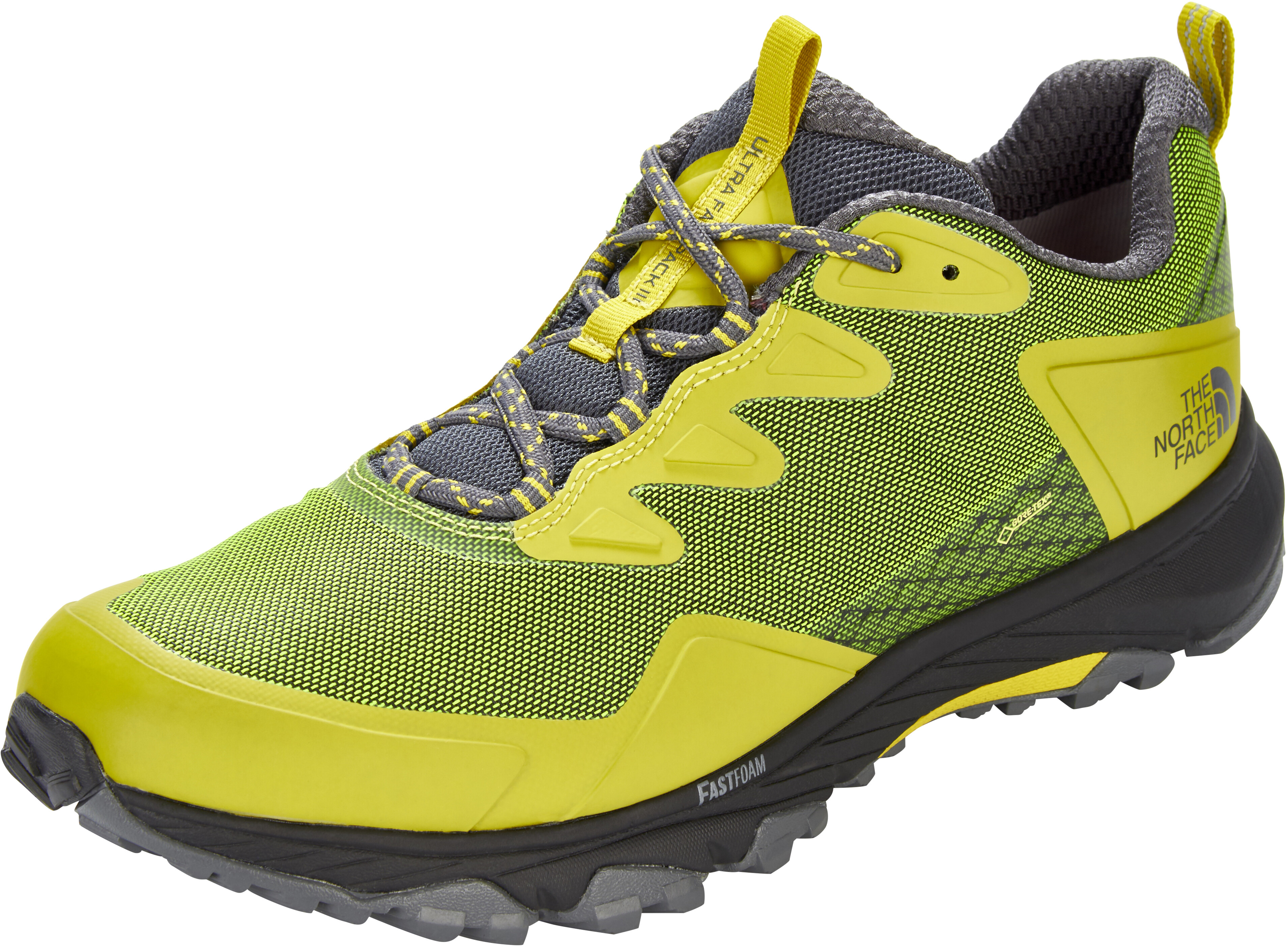 The North Face Ultra Fastpack III GTX Shoes Men yellow green at ... 1ce829cbc17
